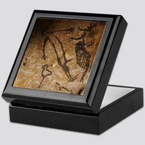 Stone-age cave paintings, Lascaux, Fr Keepsake Box