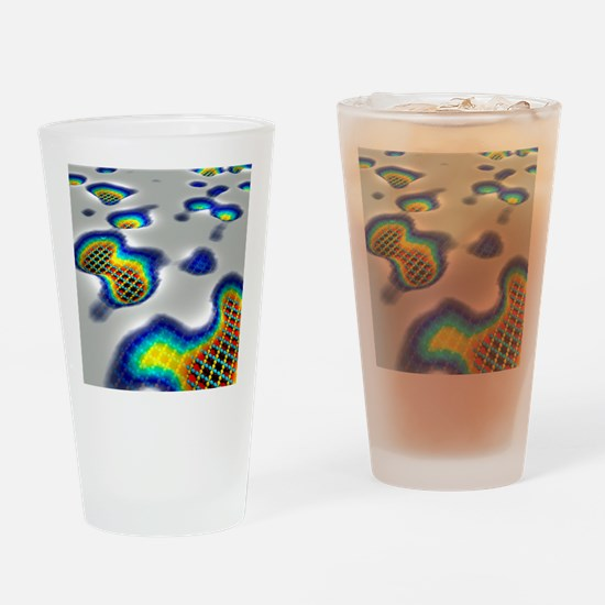 Superconductor simulation Drinking Glass