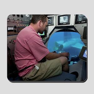Submarine Rescue Unit training Mousepad