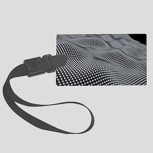 Nanospheres, computer artwork Large Luggage Tag