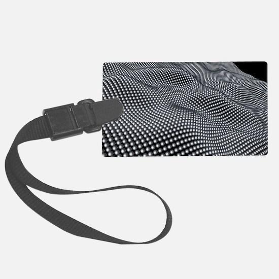 Nanospheres, computer artwork Luggage Tag