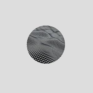 Nanospheres, computer artwork Mini Button