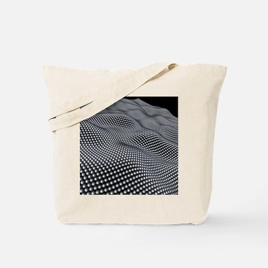 Nanospheres, computer artwork Tote Bag