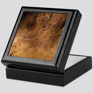 Stone-age cave art, Asturias, Spain Keepsake Box