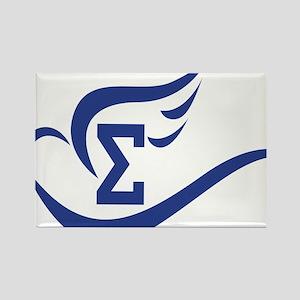Dove symbol Rectangle Magnet