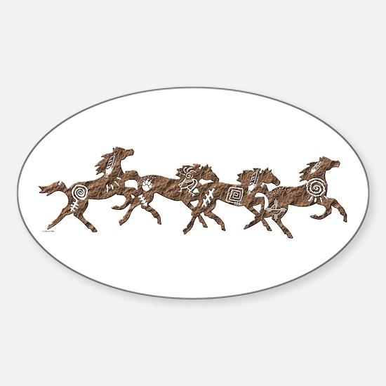 Stone Ponies Sticker (Oval)