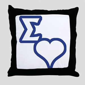 Sigma Sweet Throw Pillow