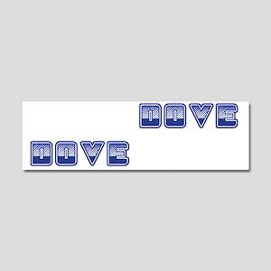 Dove Boxes Car Magnet 10 x 3