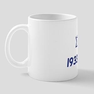 White Sigma Dove 1933 Mug