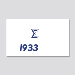 White Sigma Dove 1933 Car Magnet 20 x 12