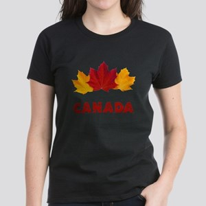 Maple Leaf Celebration Women's Dark T-Shirt