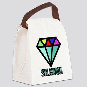 Shawol Diamond Canvas Lunch Bag