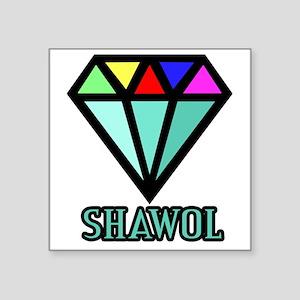 "Shawol Diamond Square Sticker 3"" x 3"""