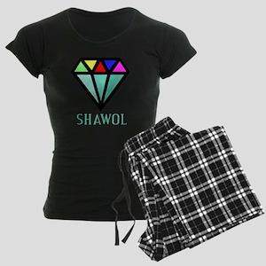 Shawol Diamond Women's Dark Pajamas