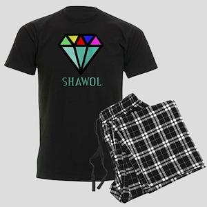 Shawol Diamond Men's Dark Pajamas