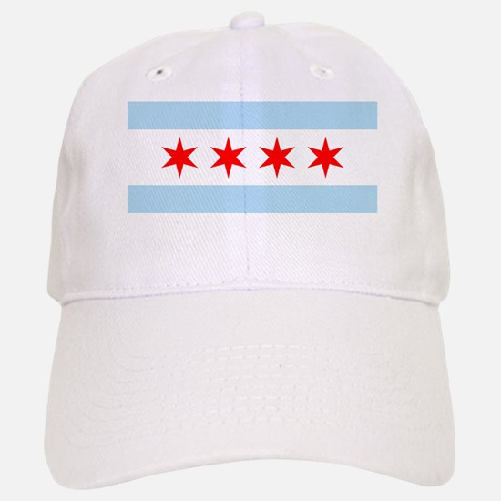Chicago Flag Baseball Baseball Cap