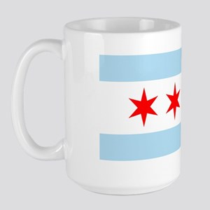 Chicago Flag Large Mug