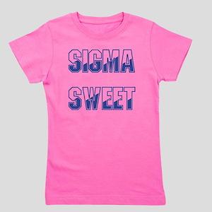 Two-tone Sigma Sweet Girl's Tee