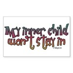 My inner child won't stay in