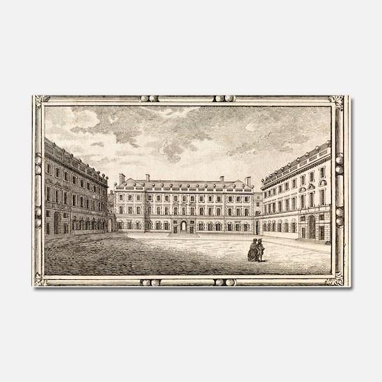 St. Bartholomew's Hospital, 18t Car Magnet 20 x 12