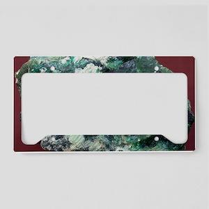 Zaratite License Plate Holder