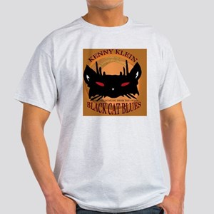 Black Cat Blues Cover Light T-Shirt