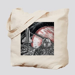 Space exploration science-fiction artwork Tote Bag