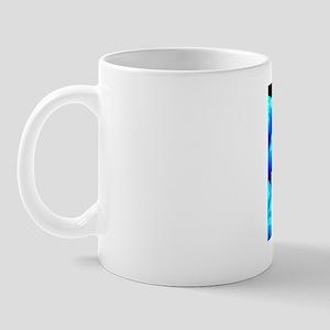Molecular model, artwork Mug