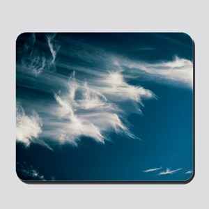 Wisps of cirrus cloud in the sky Mousepad