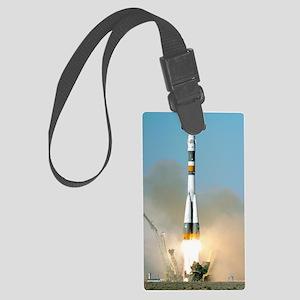 Soyuz TMA-12 launch, April 2008 Large Luggage Tag