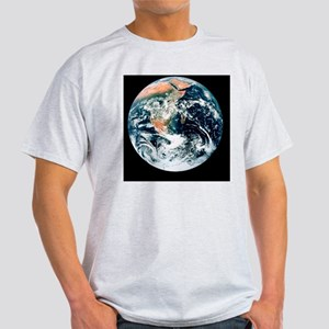 Whole earth from Apollo 17 Light T-Shirt