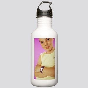 Medical identification Stainless Water Bottle 1.0L