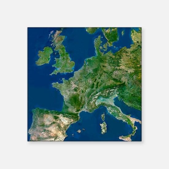 "Western Europe Square Sticker 3"" x 3"""