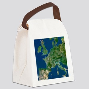 Western Europe Canvas Lunch Bag