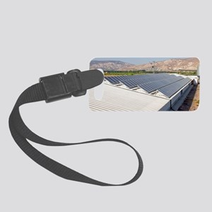 Solar panels Small Luggage Tag