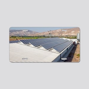 Solar panels Aluminum License Plate