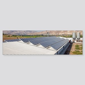 Solar panels Sticker (Bumper)