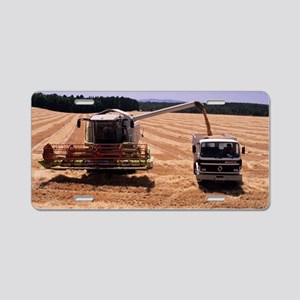 Wheat harvest Aluminum License Plate