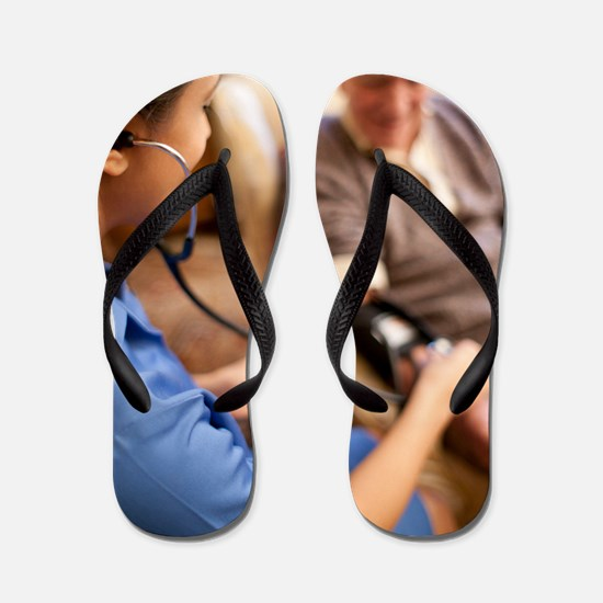 Measuring blood pressure Flip Flops