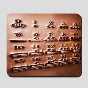 Maya numerals, artwork Mousepad