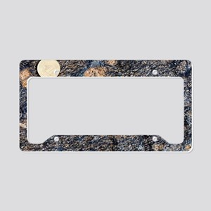 Wehrlite rock License Plate Holder