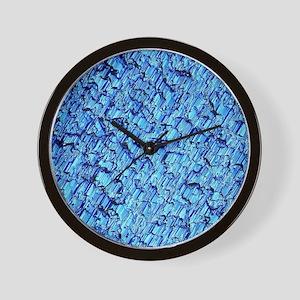 Solar cell, Micrograph Wall Clock