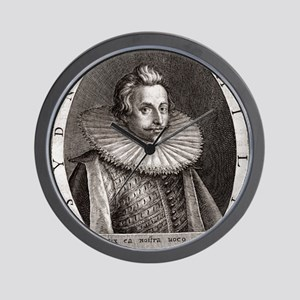 Sir Philip Sydney, English poet Wall Clock