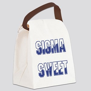 Sigma Sweet Two-tone Canvas Lunch Bag