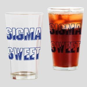 Sigma Sweet Two-tone Drinking Glass