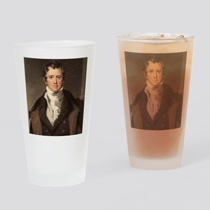 Sir Humphry Davy portrait chemis Drinking Glass