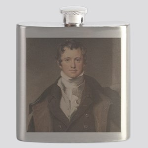 Sir Humphry Davy portrait chemis Flask