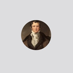 Sir Humphry Davy portrait chemis Mini Button