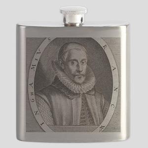 Sir Francis Walsingham, English statesman Flask