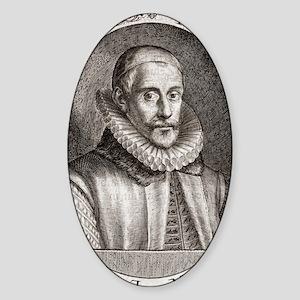 Sir Francis Walsingham, English sta Sticker (Oval)